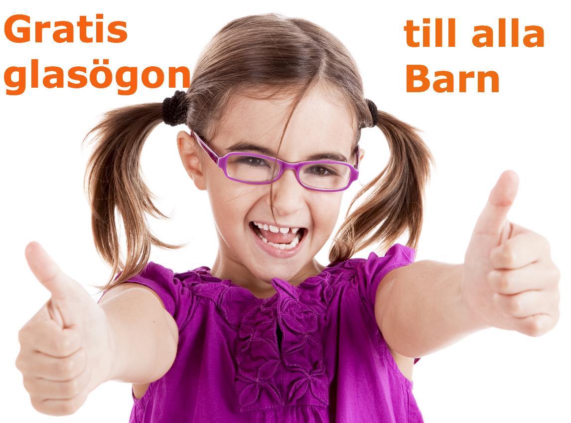 GRATIS GLASÖGON TILL BARN STOCKHOLM